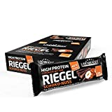 Layenberger High Protein Riegel Schoko-Nuss mit viel Eiweiß und wenig Zucker (16 g Eiweiß, nur 0,7...