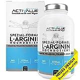VERGLEICHSSIEGER 2018*: L-Arginin Spezial-Formel, das Erfolgsprodukt von Dr.med. Wagner, 4500mg...