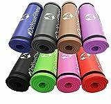 #DoYourFitness Fitnessmatte - Extra-dick und weich, ideal für Pilates, Gymnastik und Yoga - Maße:...