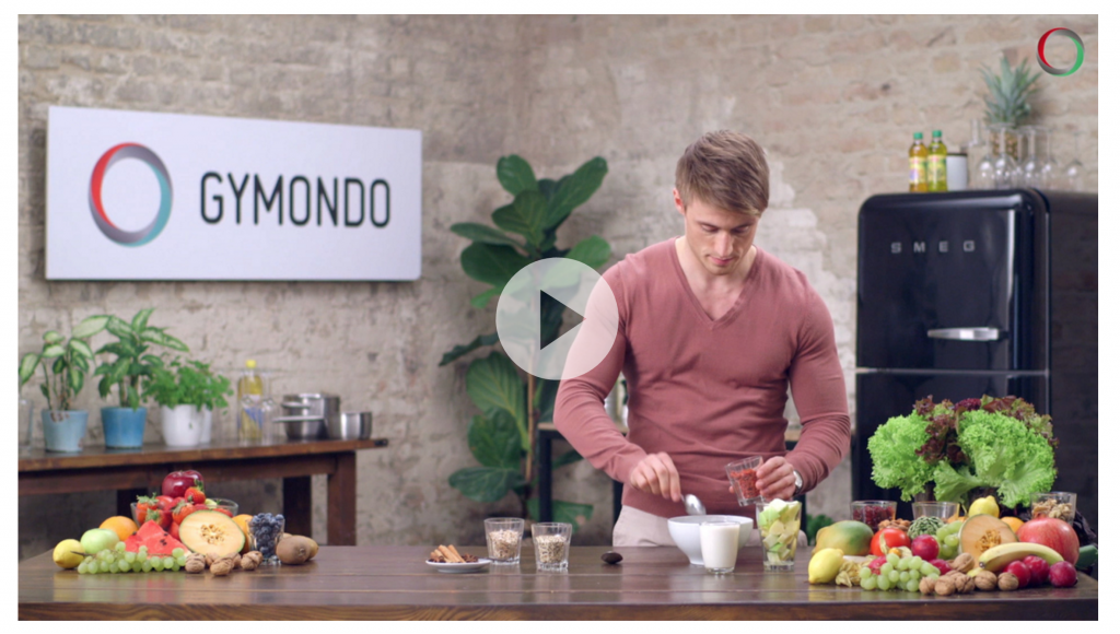 Gymondo Ernährungsvideos