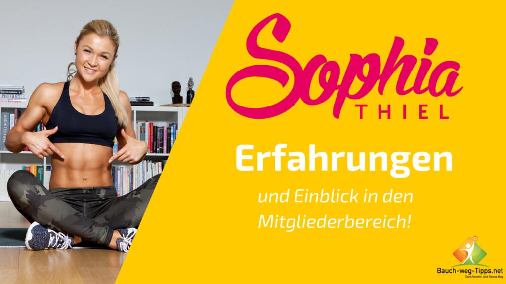 Sophia Thiel Erfahrungen
