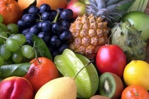 Es findet sich auch reichlich Obst auf dem Teller