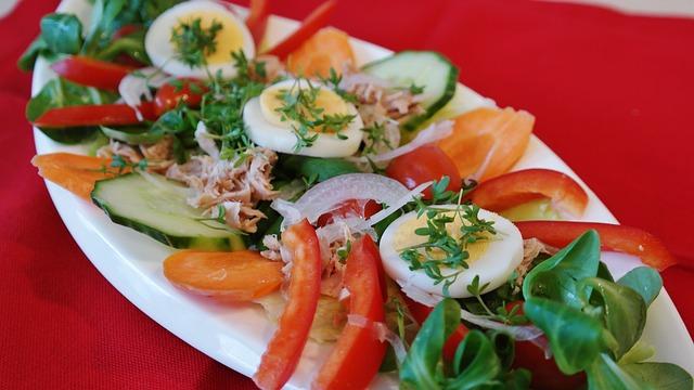 So könnte ein typisches Pape Diät Abendessen aussehen