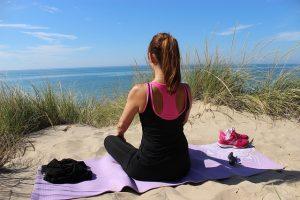Yoga für Anfänger um dem Stress zu entfliehen