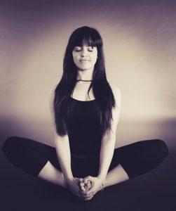 Yoga Meditationssitz