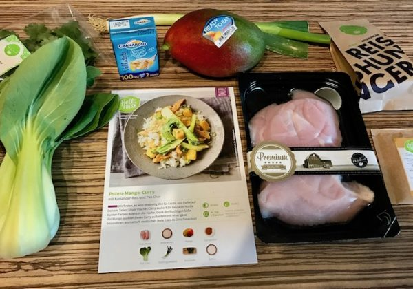 Gericht Nr. 1 – Puten-Mango-Curry