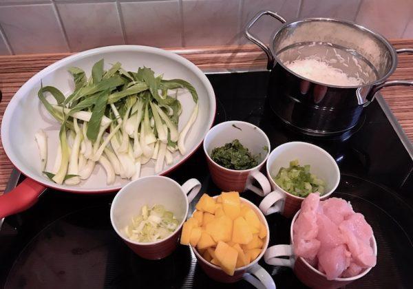 Puten-Mango-Curry – Zubereitung 2