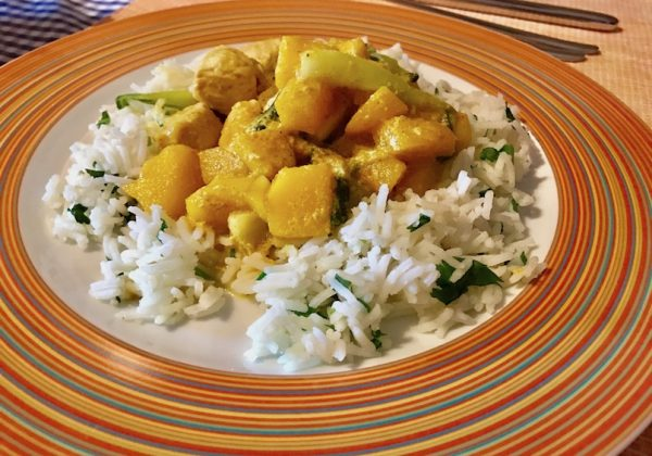 Puten-Mango-Curry – Fertig zubereitet