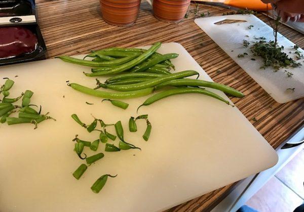 Pikantes Rundfleisch in Tymiansoße – Zubereitung 1