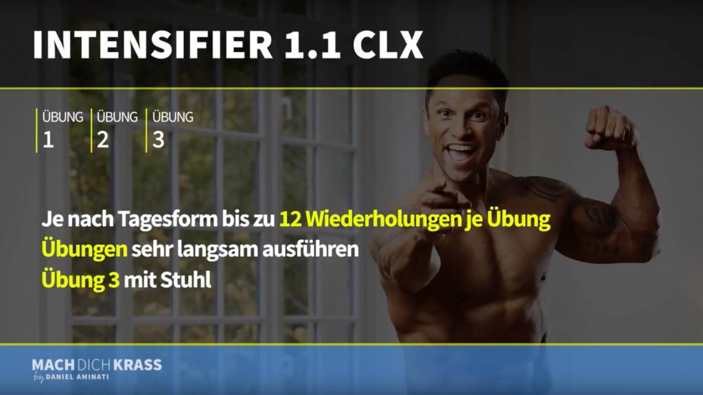 Mach dich krass Screenshot Video mit CLX