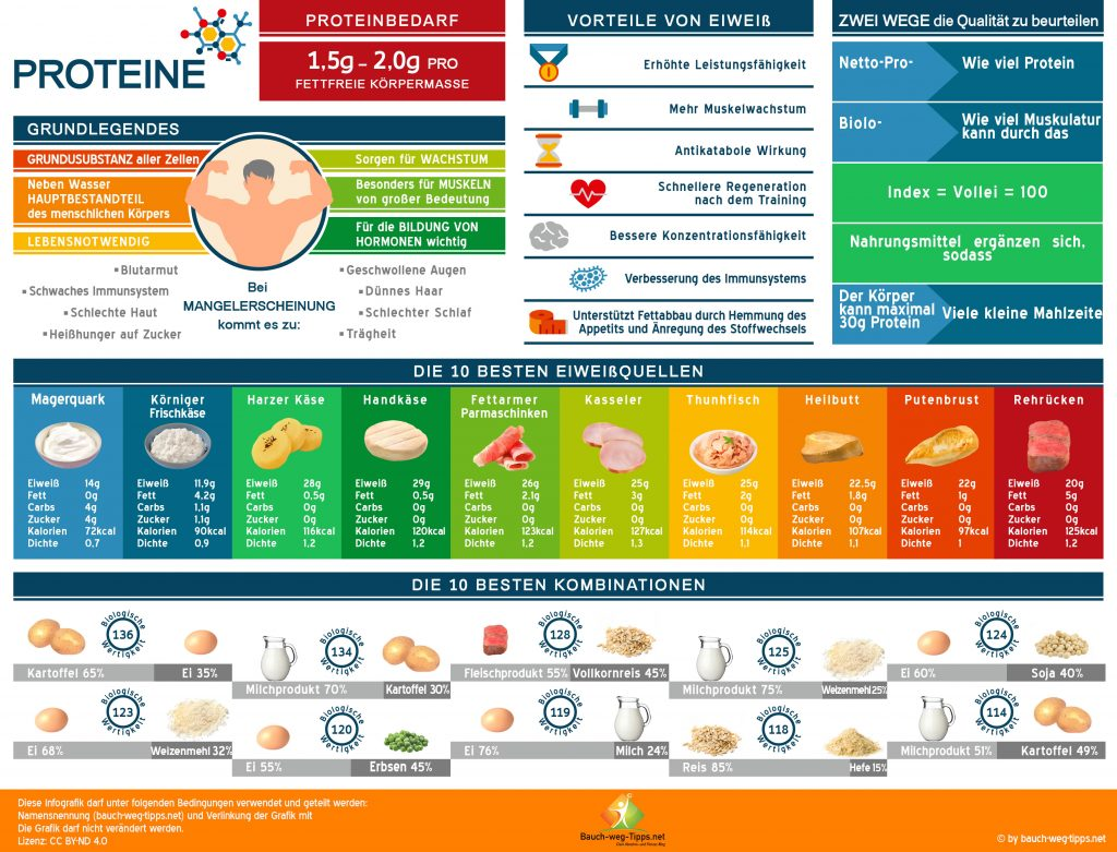 Proteine zum Abnehmen