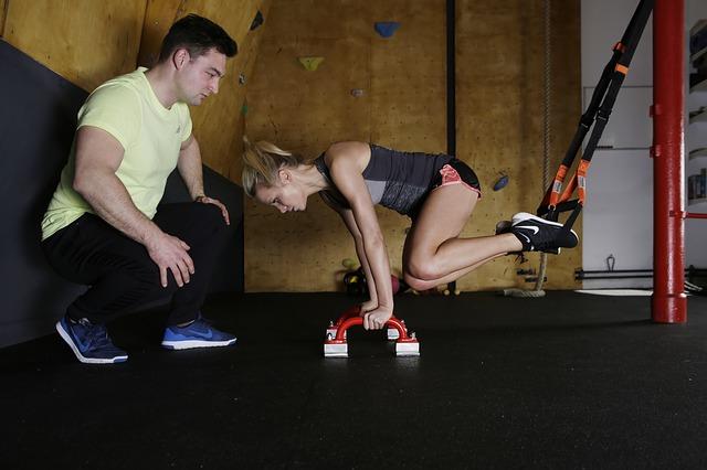 Schlingentrainer Übung 1