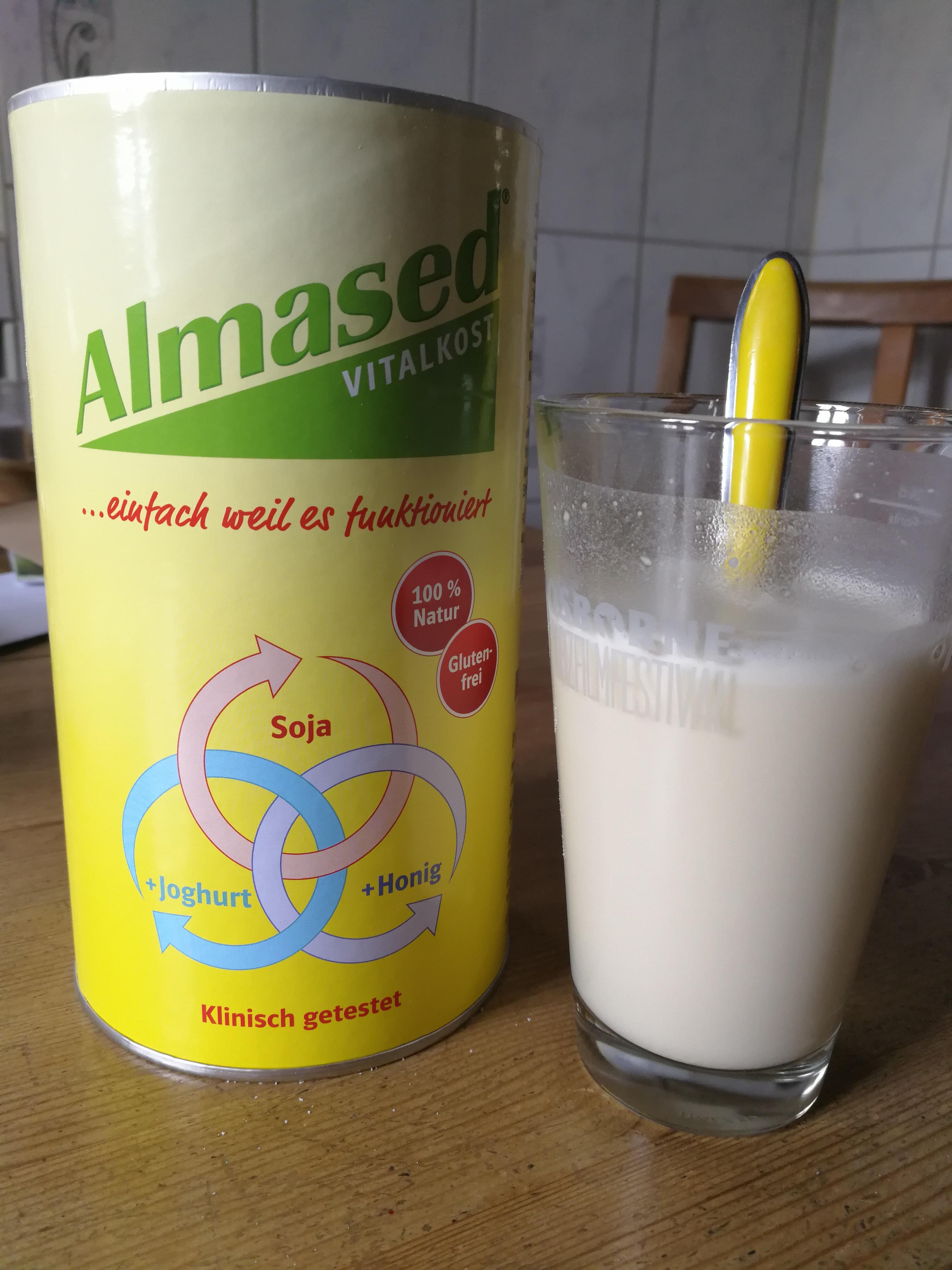 Almased - Wieso so viel Wasser?