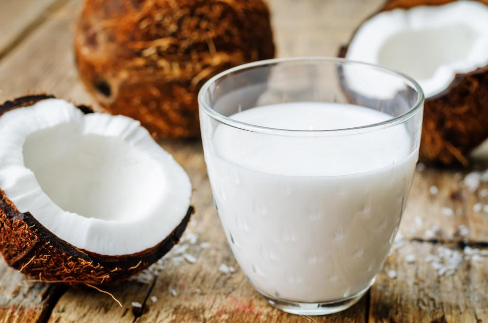 Kokosmilch selber machen