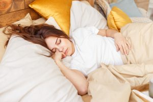 Der Kalorienverbrauch beim Schlafen kann beachtlich sein