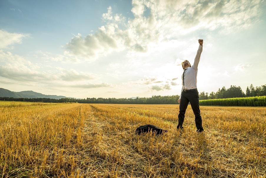 Das Feiern von Erfolgen hilft dabei Stress abzubauen und am Ball zu bleiben