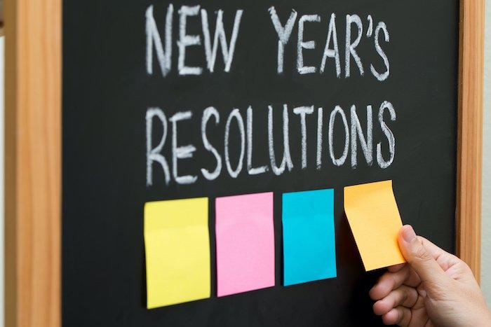 Neujahrsvorsätze Abnehmen