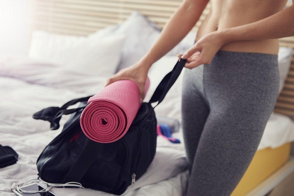 Wer ein Home Gym hat, spart sich den Weg ins Fitnessstudio