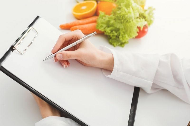 Gesundheitscoach Ausbildung - Ein Ernährungsplan wird erstellt